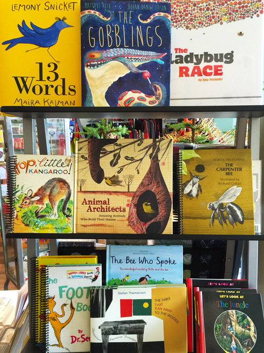 Childrens Books at Marz Bazaar in South Pasadena