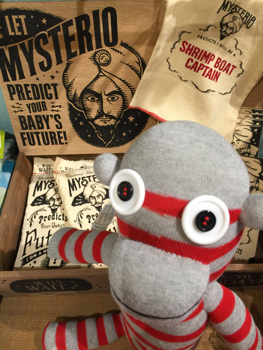 Mysterio Monkey at Marz Bazaar Gifts in South Pasadena