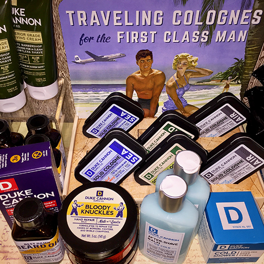 Traveling Colognes and Manstuff at Marz Bazaar Gifts in South Pasadena